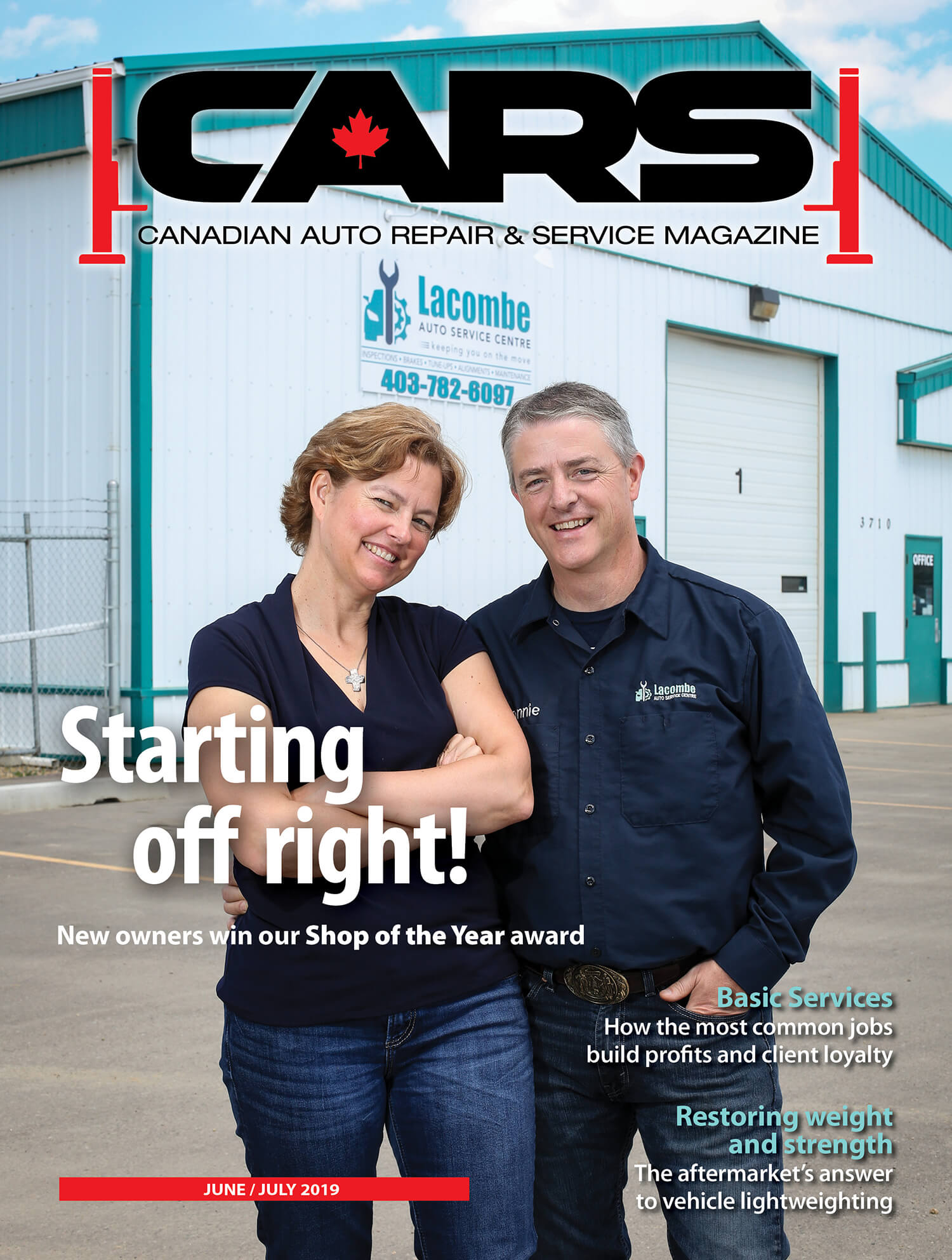 How AutoServe1 Helped Lacombe Win 2019 CARS Magazine Shop of the Year