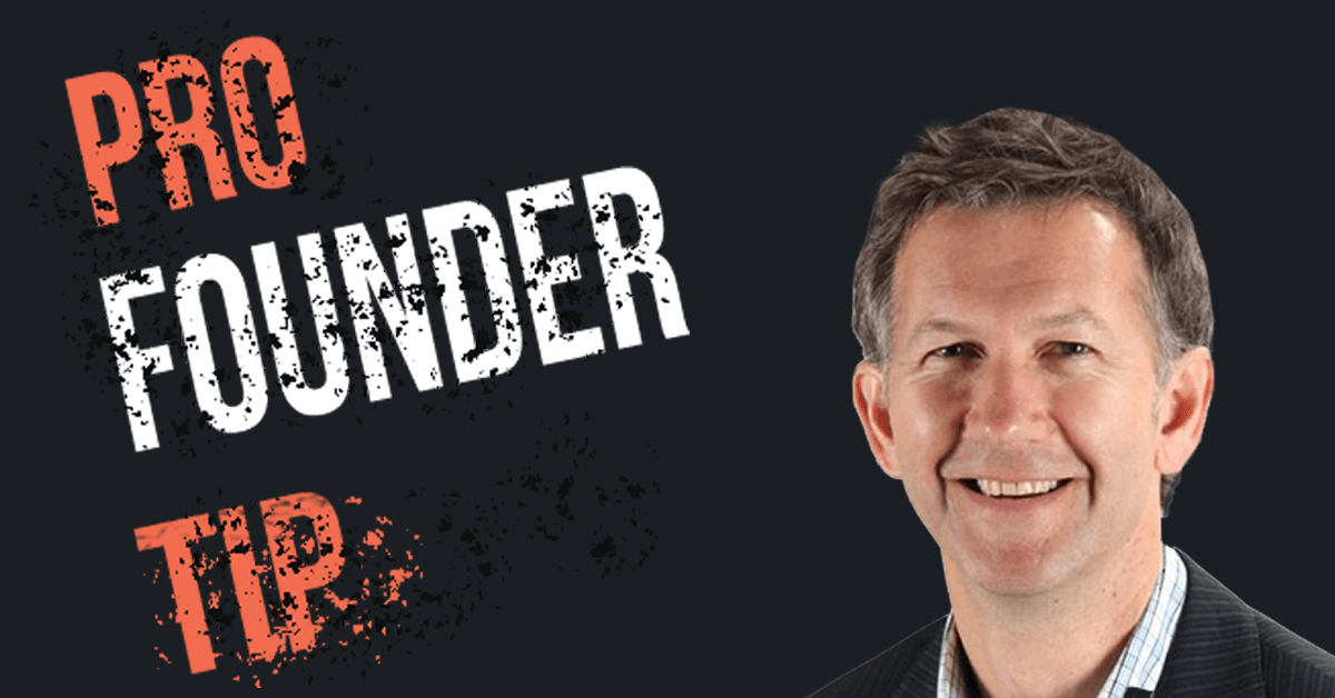 Your December Pro Founder Tip From Jamie Cuthbert